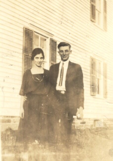 Dad and Ma (circa 1924)