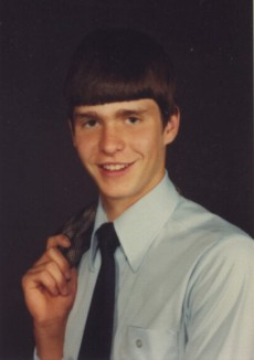 R. Scott Benson, son, senior photo