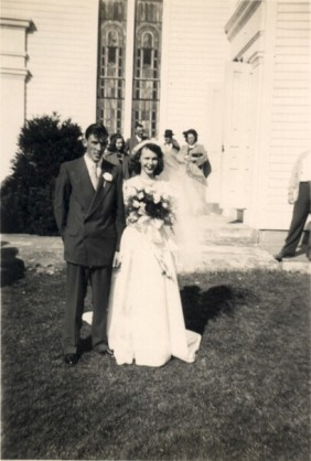 Wedding photo April 10, 1949